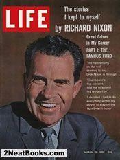Richard Nixon  life magazine cover: 16 Mar 1962