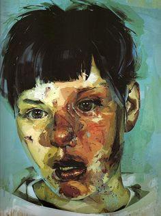 Jenny Saville. Many people are familiar with this painting by Jenny Saville, but most who have seen it do not know the name of the artist nor the other startlingly visceral and beautiful works that she has also painted.
