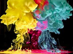 by Mark Mawson | http://www.markmawson.com    Created with color dye in water and creative lighting.