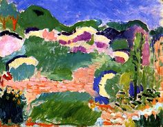 Landscape/ Les Genêts Henri Matisse - 1905