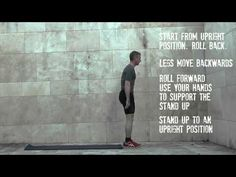 Instruction video on 'Rolling Hand Held Stand Ups' You Videos, Stand Up, Holding Hands, Exercises, Routine, Hold On, Rolls, Positivity, Feelings