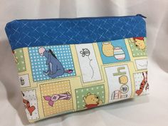 Winnie the Pooh Cosmetic/Make Up/Travel Bag by MommyMaryCrafts on Etsy