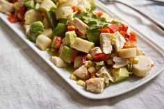 Chicken, Hearts of Palm & Avocado Chopped Salad | 23 Healthy And Delicious Low-Carb Lunches