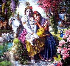 Krishna is the ultimate source of happiness and joy..  All humans are one religion called love.