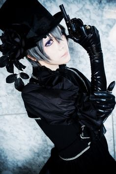 Kuromitu(黒蜜) Ciel Phantomhive Cosplay Photo - WorldCosplay