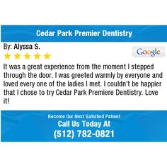 It was a great experience from the moment I stepped through the door. I was greeted warmly...