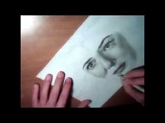 Lady Galadriel (Cate Blanchett ) Speed Drawing - YouTube