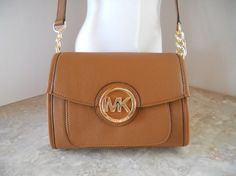 Amazon.com: MICHAEL Michael Kors Leather Cross Body Messenger Bag