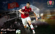 Santi Cazorla Arsenal 2012 2013 HD Best Wallpapers