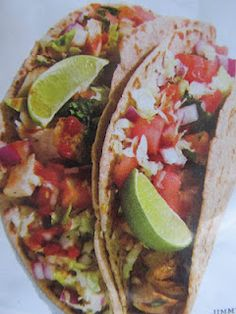 Yummy AND Healthy Fish Tacos!!