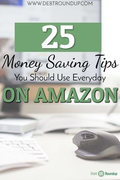 Did you know there are more than 20 different ways to shop Amazon and save. Many you probably don't even know about!