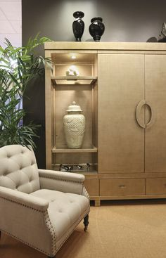 Custom Wood Armoire By Old Biscayne Designs