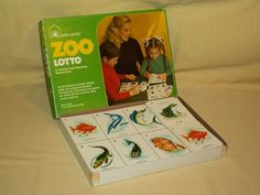 ZOO GAME LOTTO CARD MATCHING EDU CARDS NO 100 KPB INDUSTRIES ANIMAL BIRD AS IS #EduCardsEduCardsKPB