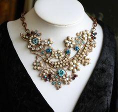 Vintage Inspired Necklace/Choker