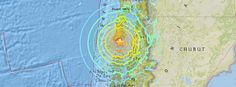 Massive M7.6 earthquake hits Chile, tsunami warning issued