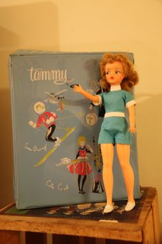 Tammy Doll Of The 1960S   1960s Tammy Doll and Case by sweetserendipityvint on Etsy