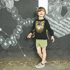 Sweat Shirt King Lion - Milkontherocks