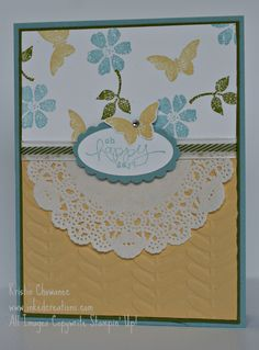 Bloomin Marvelous | stamping | card making | tutorials | scrap booking