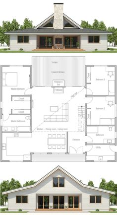 House plan, shipping container house plan