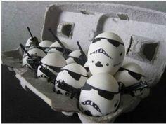 lustige ostereier star wars soldaten