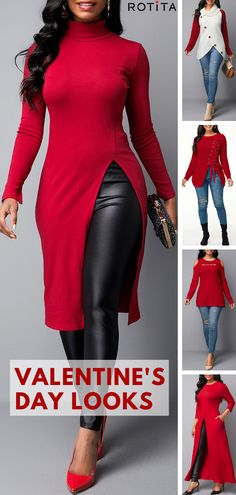 The Best Valentine s Day Outfits On Spring 2020 The Best Valentine s Day Outfits On Spring 2020 rotita fashionrotita 2020 Valentine s Day Outfits Ideas For Girls There s nothing that nbsp hellip day outfit hot Casual Winter Outfits, Chic Outfits, Fall Outfits, Red Outfits For Women, Trendy Fashion, Plus Size Fashion, Womens Fashion, Valentine's Day Outfit, Outfit Of The Day
