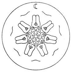 Chalkboard Drawings, Chalk Drawings, Rudolf Steiner, Steiner Waldorf, Form Drawing, Magick, Seals, Color, Seven Seals