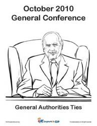 General Conference Packets based on different age groups (nursery, junior primary, senior primary, youth, etc.)