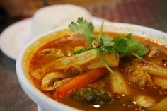 Keep it Super Healthy with Soothing Vegetarian Tom Yum Soup