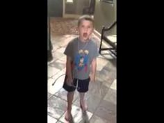 Charley singing Party Rock Anthem