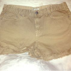Free people shorts Size 31 Free People Shorts
