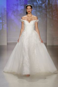 Snow White // See All the New 2017 Disney Fairy Tale Wedding Dresses by Alfred Angelo