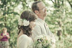 A DIY Countryside Wedding Celebration - Once Wed Wedding Bouquets, Wedding Flowers, Wedding Dresses, Wedding Designs, Wedding Styles, Rainbow Wedding Dress, Once Wed, Countryside Wedding, Flower Headpiece