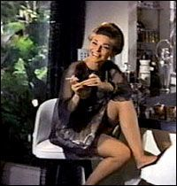 "Anne Bancroft  as  Mrs Robinson  'Opening her world'  to Ben ""The Graduate"" 1967"