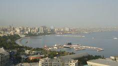 A great #panorama of #Baku, #Azerbaijan.