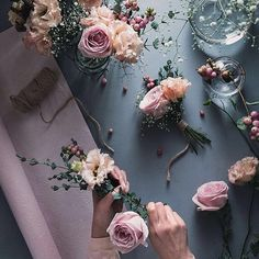my collection of beauty Love Flowers, My Flower, Flower Power, Beautiful Flowers, Beautiful Pictures, Flora Winx, Flower Studio, Pink Roses, Floral Arrangements
