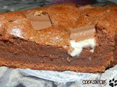 GATEAU FONDANT AU KINDER Ingrédients 6 Kinder maxi 50 g de chocolat au lait 50 g de beurre 40 g de sucre en poudre 30 ...