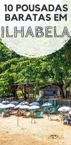 Ilhabela, no litoral norte de São Paulo: 10 pousadas baratas para a sua viagem. Descubra acomodações que além de ótimo preço, possuem localização e conforto que não deixam a desejar.