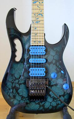 My dream guitar! Ibanez Jem...I have loved this guitar since the moment I saw it.
