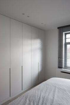Comfortable and Suitable Wardrobe Design for Big & Small Bedroom Wardrobe Door Designs, Wardrobe Design Bedroom, Closet Designs, Closet Walk-in, Closet Bedroom, Home Bedroom, Closet Doors, Closet Bench, Ikea Closet