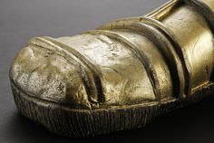This is an original foot from the 1983 Science Fiction epic Star Wars Episode VI: Return of the Jedi. This particular foot was worn by a stunt performer for the shot where falls off the deck of Jabba's barge. Star Wars Episodes, Stunts, Saga, Science Fiction, Behind The Scenes, Deck, The Originals, Sci Fi, Waterfalls