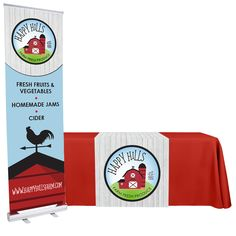 Freshen up your booth with our Streamlined Trade Show Package that includes a 24 inch banner stand and 30 x 72 inch table runner. Maximize branding for minimum cost! Formal Quotes, Pantone Matching System, Happy Fresh, Simple Artwork, Pms Colour, Base Image, Banner Stands, Trade Show, Table Runners