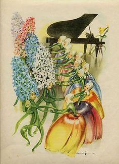 I fiori della piccola Ida Children's Book Illustration, Book Illustrations, Vintage Fairies, Morris, Hans Christian, Flower Fairies, Pattern Art, Cute Drawings, Fairy Tales