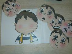 Bambini disegnati ~ Le emozioni dei bambini disegni da colorare inside out