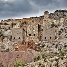 An old mercury mine in Big Bend National Park in Texas.