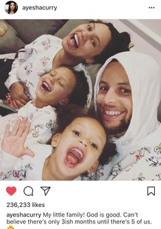 She announced in February that she and her NBA player husband Stephen Curry are expecting their third child. And on Wednesday, Ayesha Curry revealed that she gave birth a boy. Stephen Curry And Daughter, Stephen Curry Family, The Curry Family, All In The Family, Stephen Curry Wife, Ayesha Curry Pregnant, Stephen Curry Ayesha Curry, Ayesha And Steph Curry, Stefan Curry