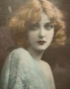 """Mary Nolan (12/18/02 – 10/ 31/48) American film actress, Beginning as a Ziegfeld girl in the 1920s as Imogene """"Bubbles"""" Wilson. Fired from the  Ziegfeld Follies in 1924 for her involvement in a tumultuous and highly publicized affair with comedian Frank Tinney. She left the U. S. shortly & began making films in Germany. She appeared in 17 German films (1925 to 1927) as, """"Imogene Robertson"""". She returned to the U.S. in 1927 attempting to distance herself from her old life, as """"Mary Nolan"""","""