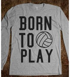 Love this volleyball shirt!