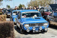 #Renault #R12 #Gordini au salon de Reims. Reportage complet : http://newsdanciennes.com/2016/03/13/grand-format-les-belles-champenoises-depoque-2016/ #ClassicCar #Vintage #Car #Voiture #Ancienne