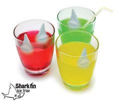 Shark Fin Ice Cube Trays
