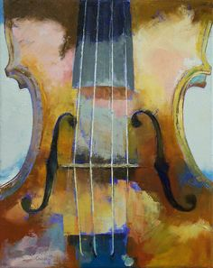 """""""Violin Painting"""" Posters by Michael Creese   Redbubble"""